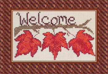 Fall Leaf Welcome